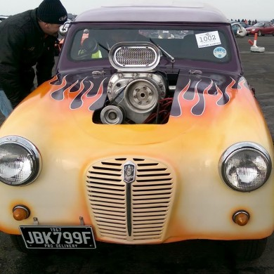 Drag and Drift - Hotrods at Perranporth