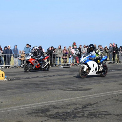 Drag and Drift - Motorbikes at Perranporth